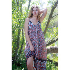 Indian cotton tunic dress The Fox and the Mermaid