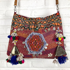 Kantha Banjara Handmade Bag The Fox and the Mermaid