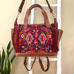 huipil backpack bag from guatemala gift idea