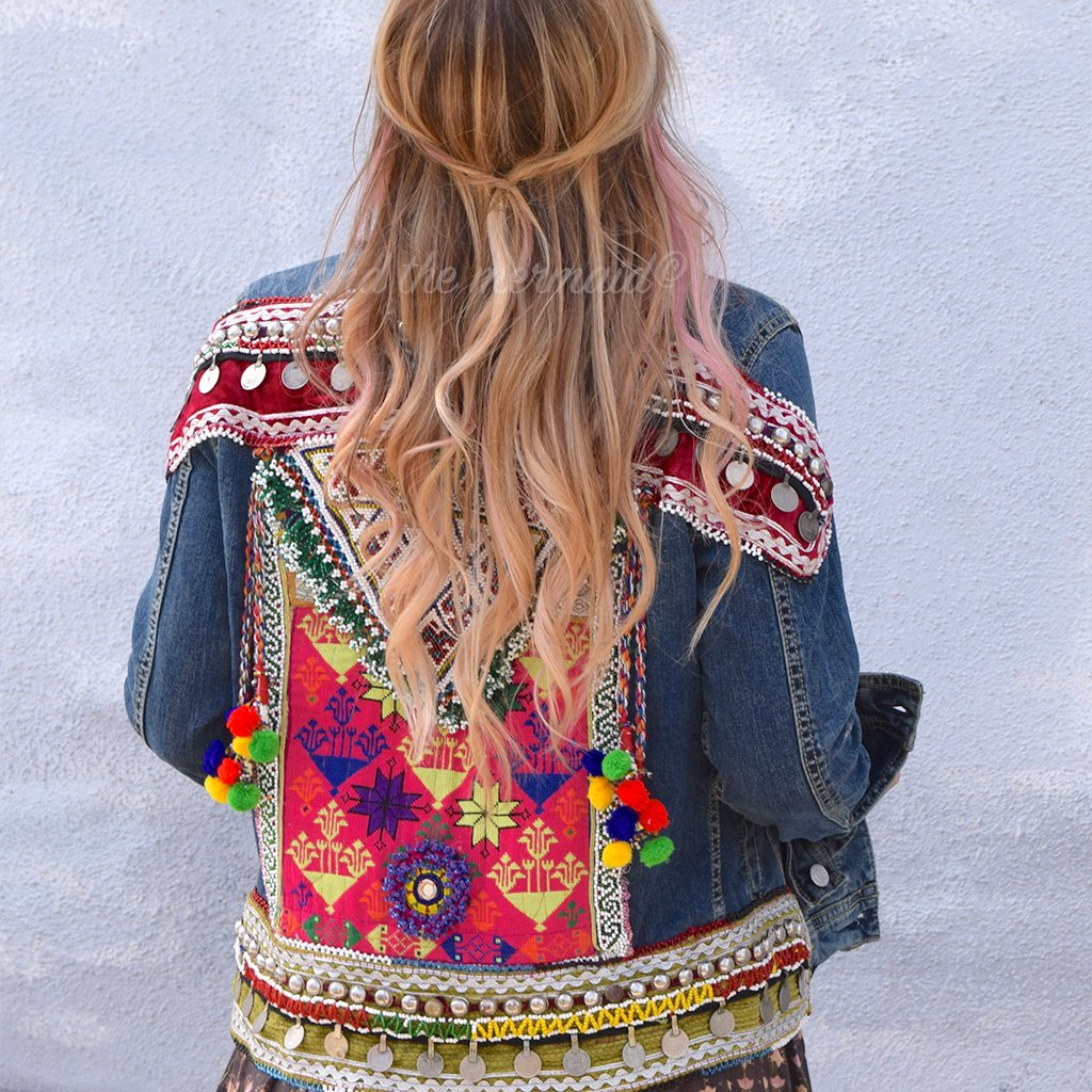 Embellished Jacket (M) - The Fox and The Mermaid