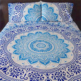 Baby Blue Ombre Tapestry Bedding - The Fox and The Mermaid - 1
