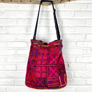 hot pink banjara bag The Fox and the Mermaid