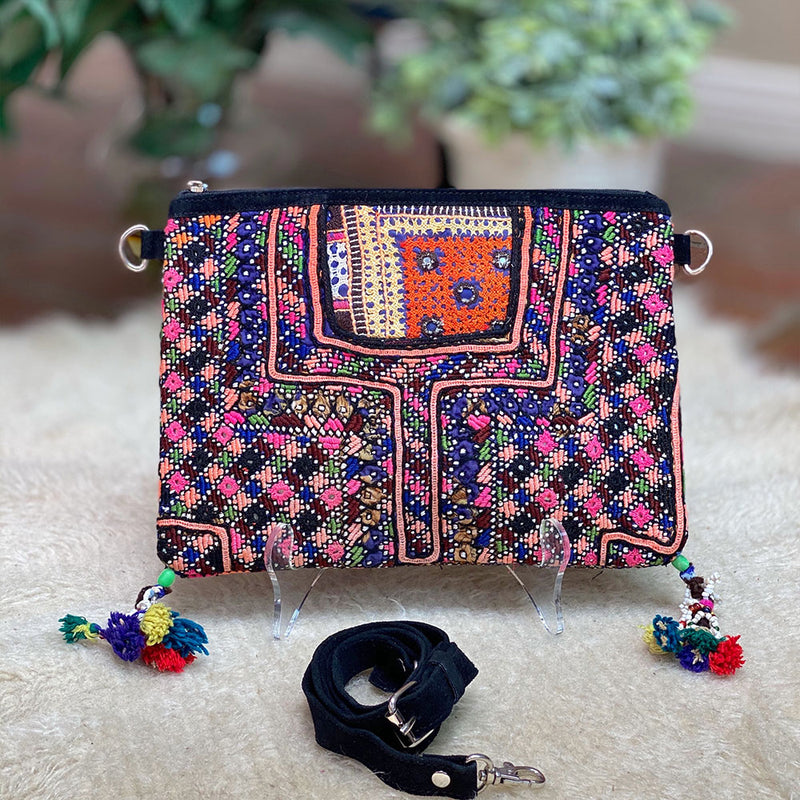 vintage indian shoulder bag - The Fox and the Mermaid
