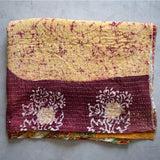 Hand-Stitched Indian Throw - The Fox and The Mermaid