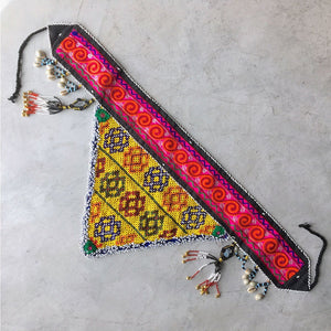 Vintage Tribal Festival Style Belt The Fox and the Mermaid