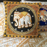 Elephant Cushion (Various Colors)