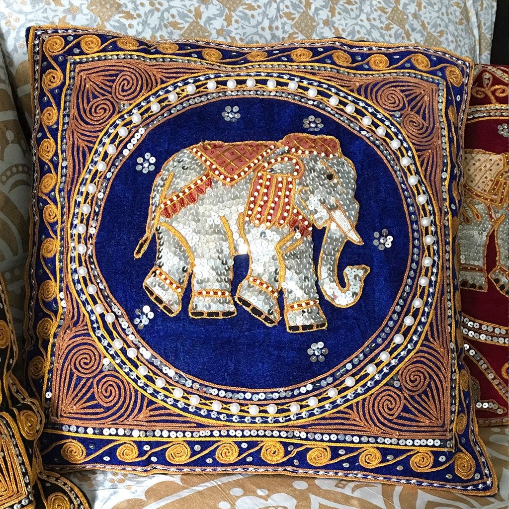 Elephant Cushion (Various Colors) - The Fox and The Mermaid