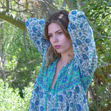 cotton hippy bohemian dress the-fox-and-the-mermaid