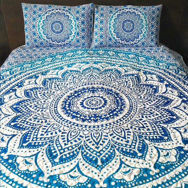 Mother Ocean Mandala Quilt