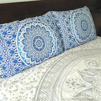 Mother Ocean Tapestry Bedding - The Fox and The Mermaid - 3