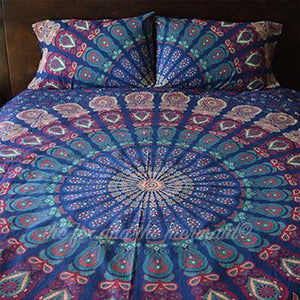 Pure Bliss Tapestry Bedding - The Fox and The Mermaid - 1