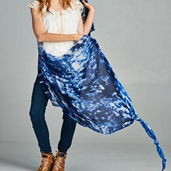 The Tulum Scarf and Sarong - The Fox and The Mermaid - 1