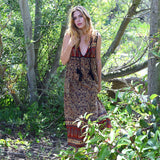 bohemian maxi-dress i the-fox-and-the-mermaid