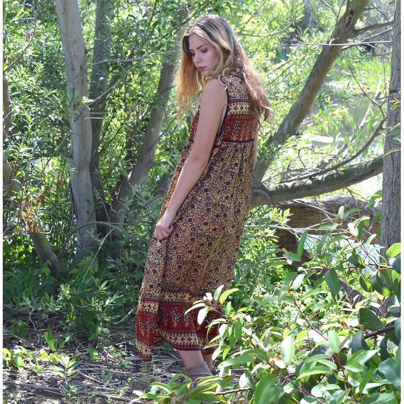 boho style indian hippie dress the-fox-and-the-mermaid