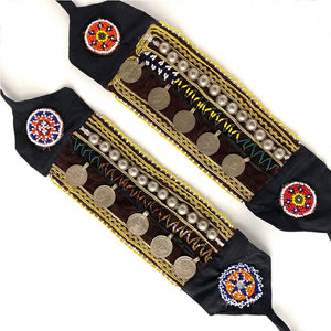 Chocolate Velvet Boot Belts - The Fox and the Mermaid