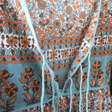 Detail of Bohemian Maxi dress The Fox and the mermaid
