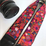 red floral strap for a purse The Fox and the Mermaid