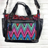 geometric huipil bag from Guatemala - The Fox and the Mermaid