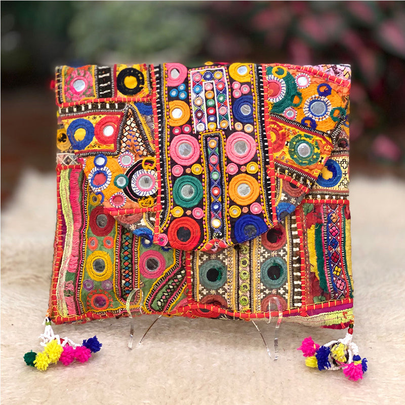 Vintage boho banjara bag - The Fox and the Mermaid
