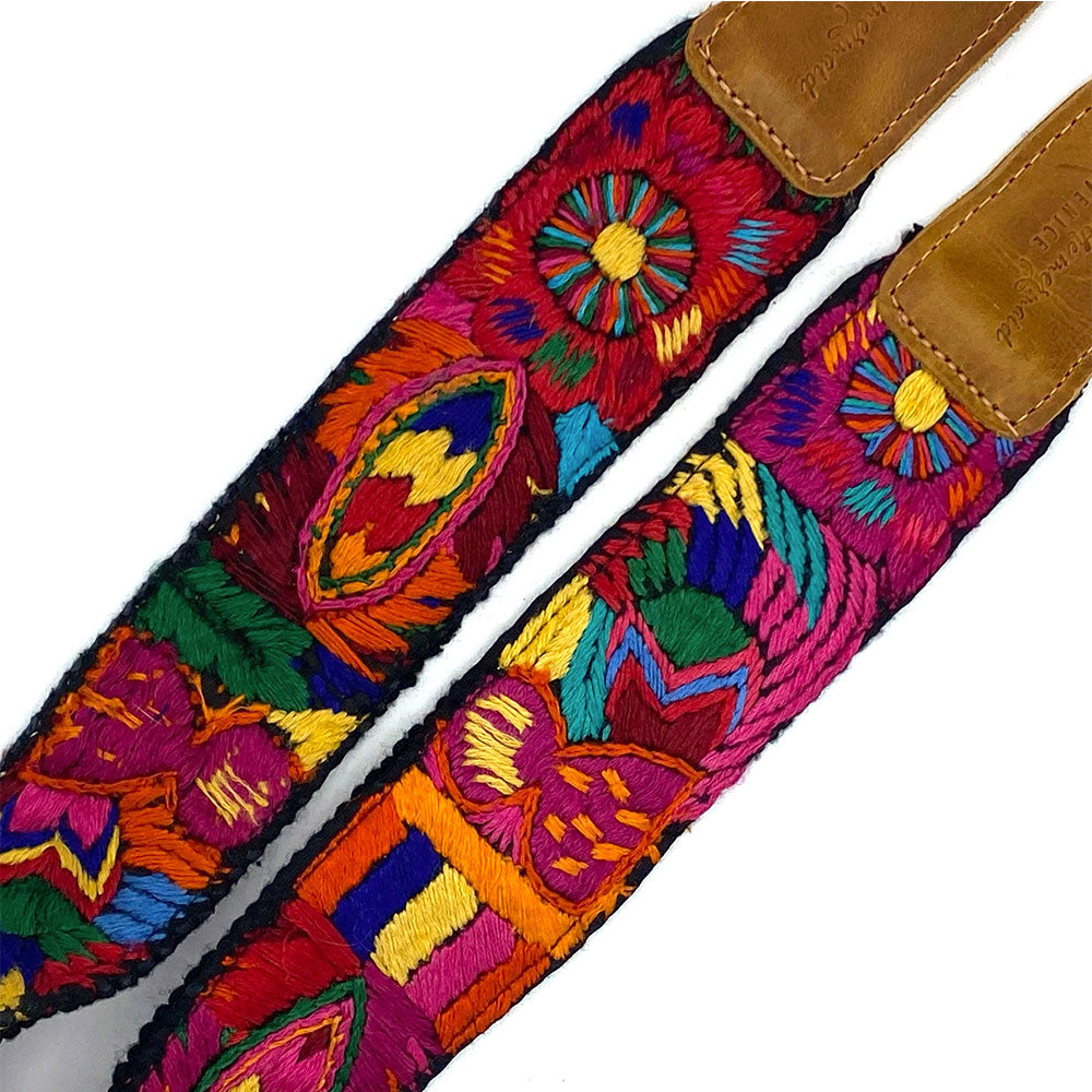 embroidered peacock on bag strap - The Fox and the Mermaid