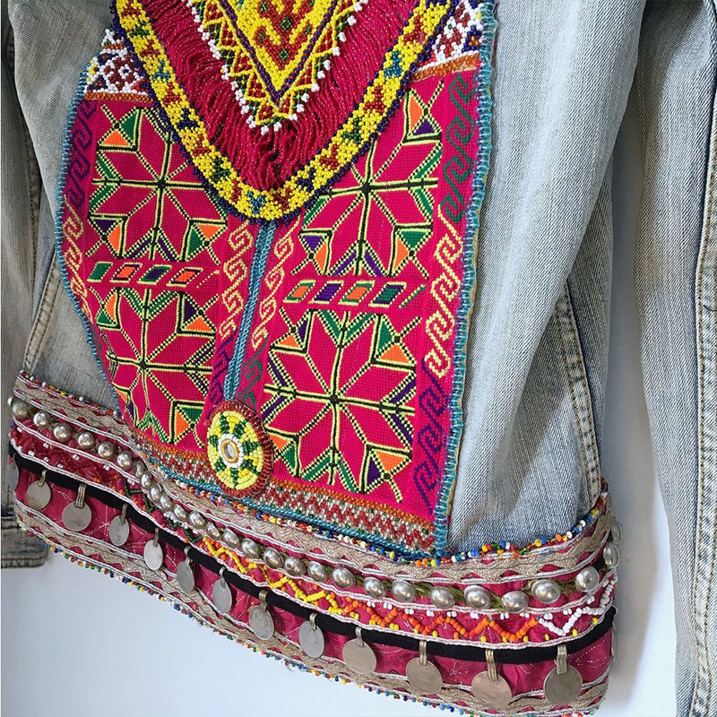 Embellished Banjara Jacket (M) - The Fox and The Mermaid