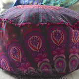 Hello Love Mandala Tapestry Ottoman Cover - The Fox and The Mermaid