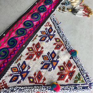 Tribal Beaded Boho Belt The Fox and the Mermaid