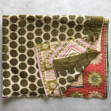 Kantha Quilt The Fox and the Mermaid