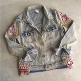 pink-embellished-denim-jacket The Fox and the Mermaid