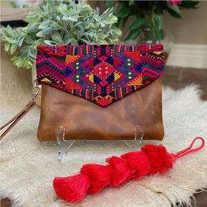 long guatemalan bag tassels - The Fox and the Mermaid