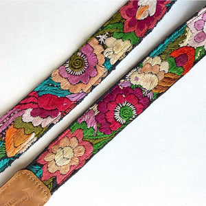 guitar strap details - The Fox and the Mermaid