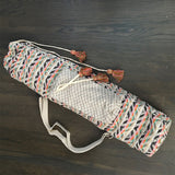 Geo-Inspired Tapestry Yoga Mat Bag