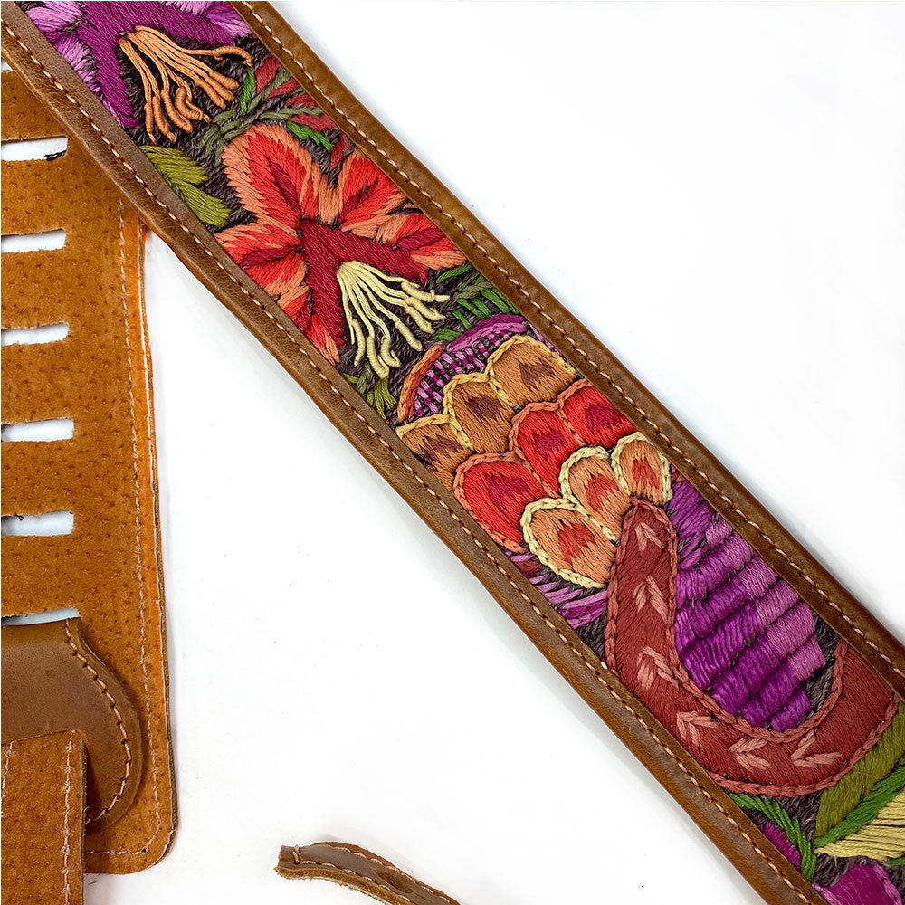 Embroidered Guitar Strap