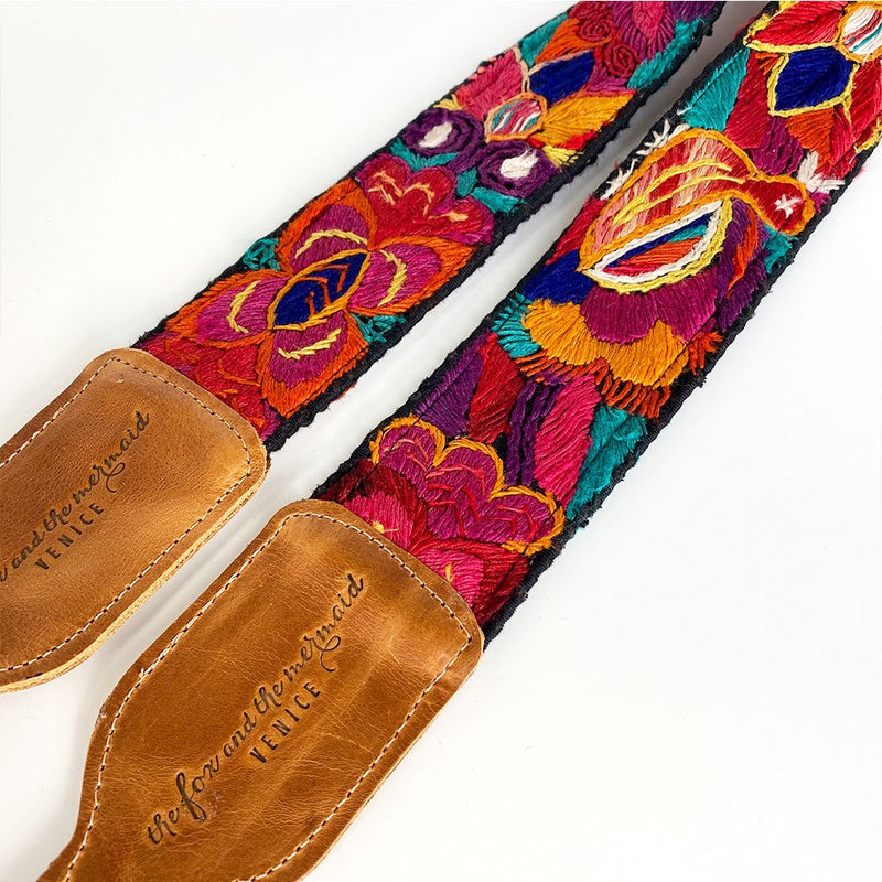 leather bag strap The Fox and the Mermaid