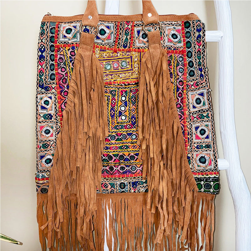 indian fringe bag - The Fox and the Mermaid