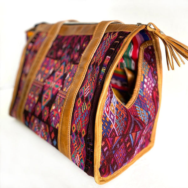 geometric huipil dog bag - The Fox and the Mermaid