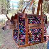 Dog bag carrier from guatemala  The Fox and the Mermaid