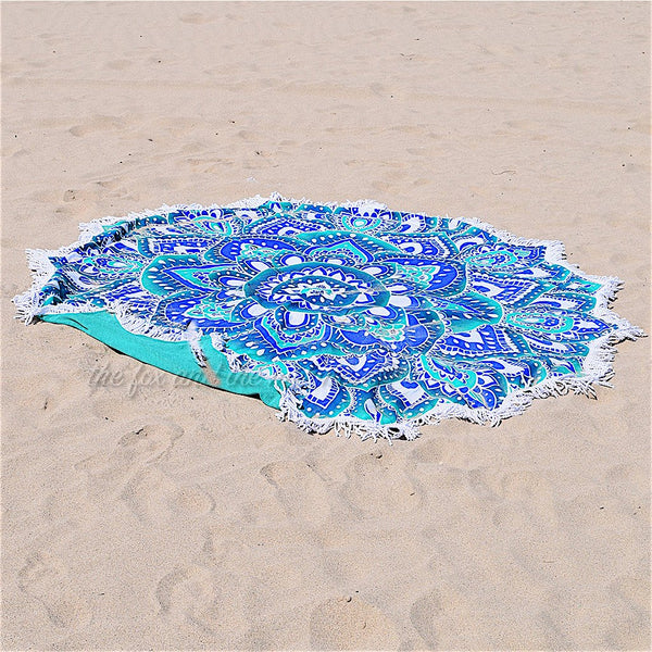 Lotus Flower Beach Roundie The Fox and the Mermaid