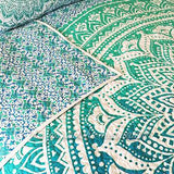 Oceana Ombre Mandala Quilt - The Fox and The Mermaid - 2