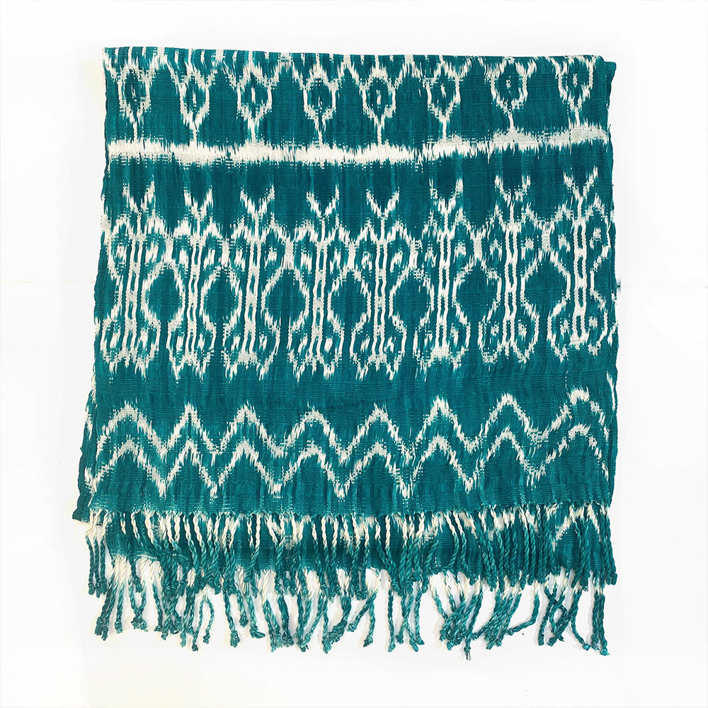 handwoven and dyed guatemalan table runner