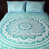 Oceana Ombre Tapestry Bedding - The Fox and The Mermaid - 3