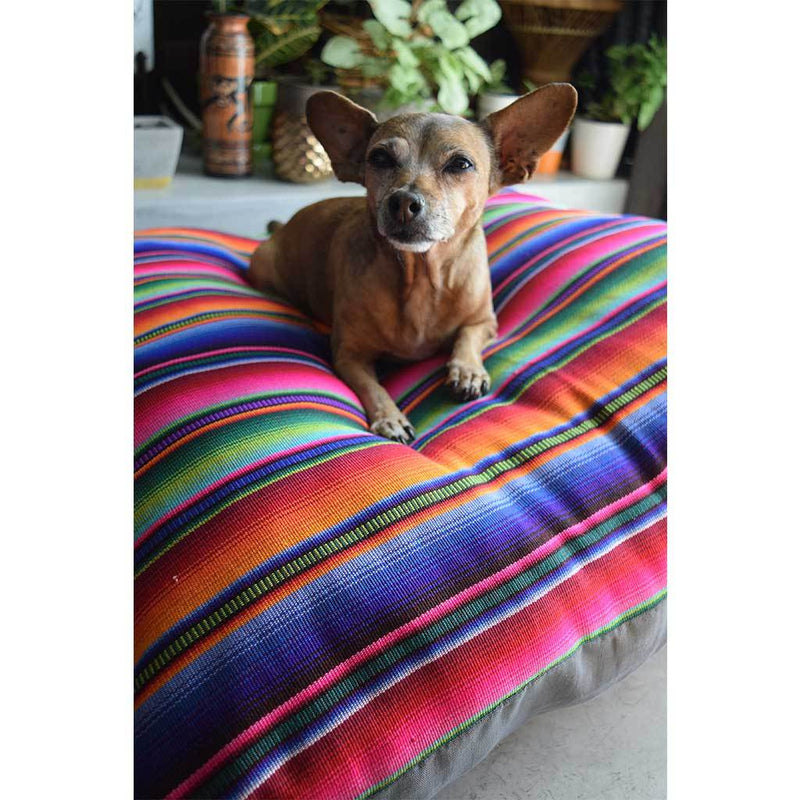 Boho Guatemalan Dog Bed The Fox and the Mermaid