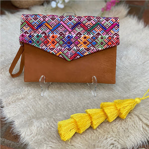 Huipil hand bag from Guatemala - The Fox and the Mermaid