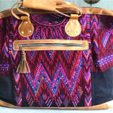 Mayan Huipil Weekender Purse Bag The Fox and the Mermaid