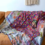 Mayan Huipil Bedspread and Throw