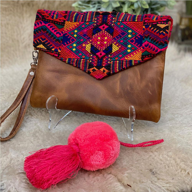 Bag Tassels with Large Pom-pom - The Fox and the Mermaid