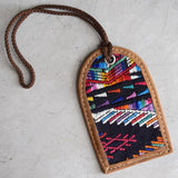 Hand-made luggage tags from Guatemala The Fox and the Mermaid