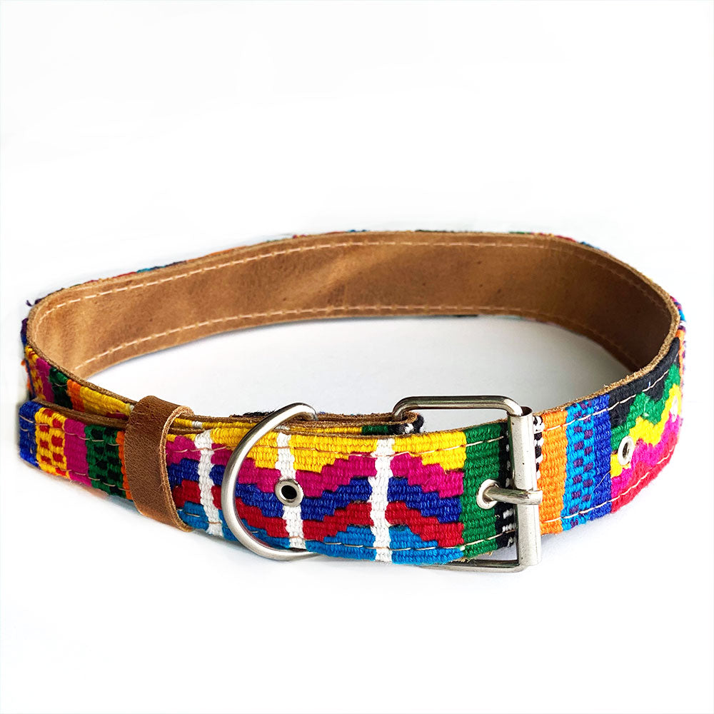 Handwoven Guatemalan Collar - The Fox and the Mermaid