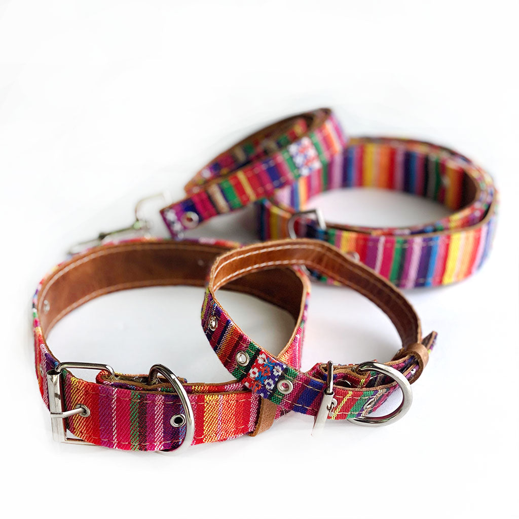 Guatemalan Dog Collars and Leashes - The Fox and the Mermaid