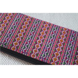 Hand Woven Hmong Tribe Wallet - The Fox and The Mermaid - 3